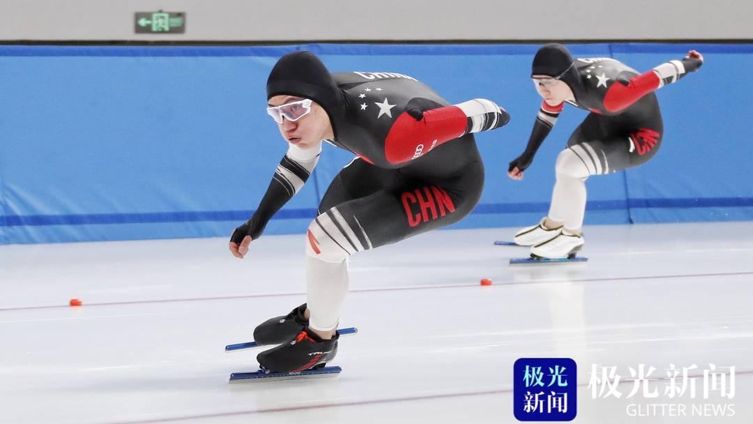 全国速度滑冰通讯测试赛在哈尔滨开赛